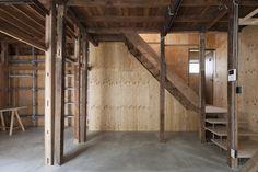 弦巻の戸建 リノベーション- House Renovation in Tsurumaki Japanese Architecture, Wabi Sabi, Facade, Kitchen Decor, Stairs, Loft, Diy Crafts, House Design, Home Decor
