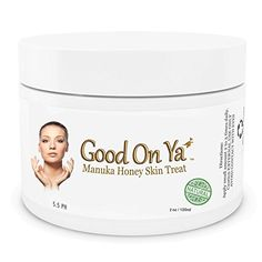 Organic Face Treatment and Best Moisturizer - 20,000 Satisfied Customers!! Best Night Cream - Day Cream - for Eczema and Psoriasis- Manuka Honey Cream- Organic Natural - Best Facial Moisturizer - Anti-aging Moisturizing Cream - For Women - For Men  Non-allergenic- Best Skin Care Products Guaranteed or Your Money Back - (2 oz) GoodOnYa Online Shopping to enter or purchase click on Amazon here http://www.amazon.com/dp/B00K3PRXCU/ref=cm_sw_r_pi_dp_2XX0tb1HQ7GEW7TZ