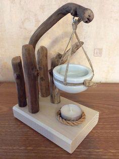 Brûle parfum suspendu par l'Atelier de Corinne : Accessoires de maison par atelier-de-corinne