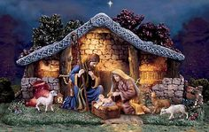 beautiful nativity scene | nativity-scene