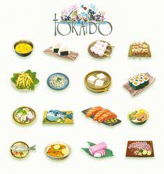 TOKAIDO meal by naiiade.deviantart.com on @deviantART