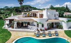 Lovely Location, Moorish style Villa in Quinta do Lago!  Within one of the finest resorts in Europe, with beautiful landscaped gardens.   #Algarve #GoldenTriangle #moorishvilla #quintadolago #luxuryliving  #portugal