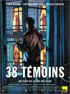 38 témoins, de Lucas Belvaux (2012) #Affiche