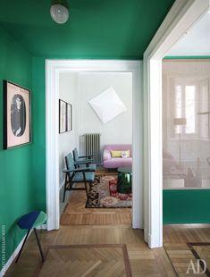 Квартира в центре Милана: в гостях у Изабеллы Эррани, владелицы пира-агентства | AD Magazine