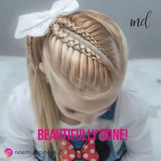 hairstyles for long hair videos Cute Girls Hairstyles, Cute Hairstyles, Braided Hairstyles, School Hairstyles, Updo Hairstyle, Halloween Hairstyles, Hairstyle Short, Wedding Hairstyles, Natural Hairstyles