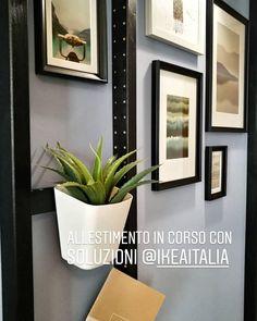 7 fantastiche immagini su parete vuota wall of frames for Scalette ikea