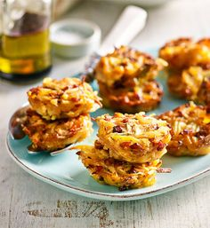 Cheese and potato nests: This is a simple French recipe made very special. For best results, use the strongest-flavoured cheese you like.