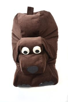 Items similar to Childrens Animal Charcter Bean Bag - Desmond the Dog on Etsy Dog Bean Bag, Bean Bags, Stuffed Animal Bean Bag, Brown Dog, Oversized Chair, Bag Chairs, Bean Bag Chair, Sewing Projects, Trending Outfits