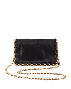 Falabella Chain Crossbody Bag, Black by Stella McCartney at Neiman Marcus.