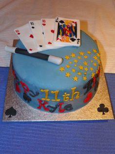 magic birthday party cake ideas -