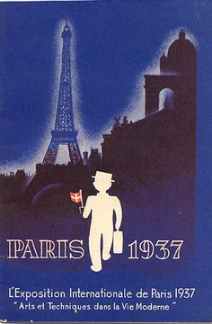 """Brochure for the Danish Pavilion at """"L'Exposition Internationale de Paris 1937."""""""