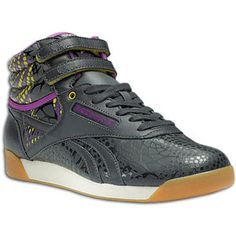 Alicia Keys teamed up with Reebok on some fun new styles.  Check out this Freestyle Hi!