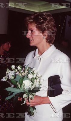 May 25 1995 Princess Diana at Christies Auction House, Launching Book 'Freedom' for Red Cross, London