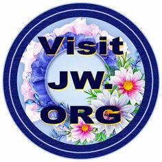 Scent of the Highlands blog points out that the blue JW.ORG logo is copyright, but if you want it on a badge here is one ScentoftheHighlands has made that you can use.