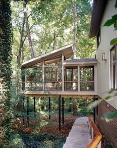 Whole House Renovation & Addition in McLean, VA - contemporary - porch - dc metro - CHECA Architects PC