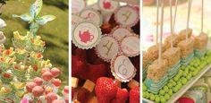 Sweet Garden Tea Party Birthday! : Pizzazzerie