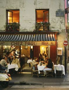 "The 50 Best Restaurants in Paris. At Restaurant ""Chez Paul"" in the arrondissement this off-the-beaten-track restaurant near the Bastille serves a particularly good boeuf bourguignon. Best Restaurants In Paris, Restaurant Paris, Best Cafes In Paris, French Cafes In Paris, Restaurant Design, Romantic Restaurants, French Restaurants, Chicago Restaurants, Paris Travel"