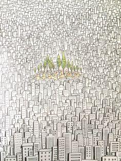 Osman Turhan illustration. Cins magazine
