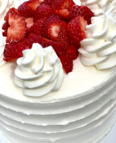 Stabilized Whipped Cream Icing: Perfect for Spring! Stabilized Whipped Cream Frosting, Whipped Icing, Homemade Whipped Cream, Recipes With Whipping Cream, Cream Recipes, Cake Icing, Cupcake Cakes, Buttercream Frosting, Raspberry Buttercream