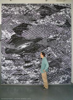 "wowgreat: "" Parisian chalk artist, Philippe Baudelocque """