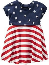 2-in-1 Stars-and-Stripes Dresses for Baby: $11, available in sizes 12 months to 5 years. Old Navy: $, local Cville franchise