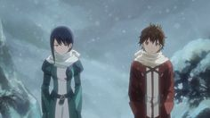 Hai to Gensou no Grimgar | Mary and aruhiro | Winter Garb