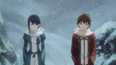 Hai to Gensou no Grimgar | Mary and aruhiro | Winter Garb