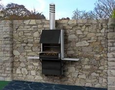 Ultra Modern Bbq Grill Design Ideas , Outdoor BBQ Grill Design Ideas In Landscaping And Outdoor Building Category Barbecue Design, Grill Design, Barbecue Grill, Grilling, Modern Outdoor Grills, Parrilla Exterior, Outdoor Buildings, Outdoor Living, Outdoor Decor