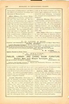 Vintage 1885 Ads LYON Horse Shoes Wellsboro Pennsylvania Connellsville Johnstown