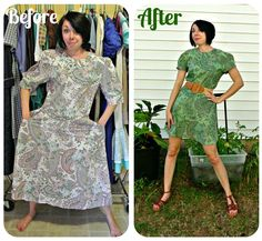 This Woman Transforms Second-Hand Clothes Into Elegant Dresses | Bored Panda