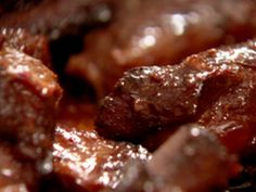 Sweet and Sticky Ribs recipe from Nigella Lawson via Food Network