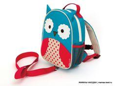 Рюкзачок с поводком безопасности Zoo Let OWL (СОВЕНОК)