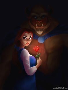 Beauty and the Beast fanart, I'm a little late but oh well! cx