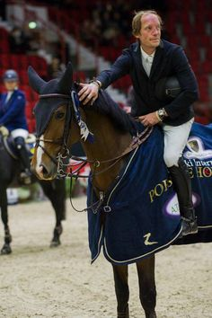 A double victory to Finland on Sunday morning in the time class. Good luck Sebbe Numminen! Helsinki International Horse Show, Finland, October 2016