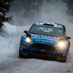 2016 Rally Sweden 12-14/2/2016 #6 Eric Camilli - Nicolas Klinger M-Sport World…