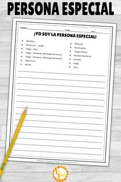 Check out this post on what I do before, during, and after Persona Especial Interviews! Check this out to get started with Special Person in your classroom! Spanish Lessons For Kids, Spanish Basics, Spanish Lesson Plans, French Lessons, Spanish Language Learning, Teaching Spanish, Spanish Teacher, Classroom Language, Language Classes