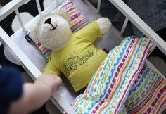 Miś Endo jako ulubiona zabawka bloga Dzieciusiowo
