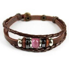axy TIBET SERIE TIB10-9! Leder Armband Bracelet Leather Unisex!Surferarmband Lederarmband Herren Damen | Your #1 Source for Jewelry and Acce...
