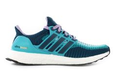 ADIDAS Womens Ultra Boost Clear Green/Mineral Purple