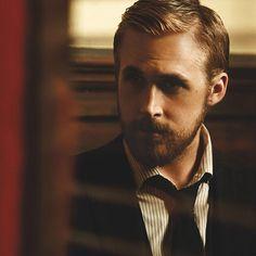 Hair & facial hair by Ryan Gosling