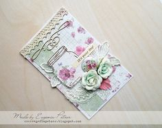 ScrapTherapy by Evgenia Petzer: 2 cards for Precious Remembrance