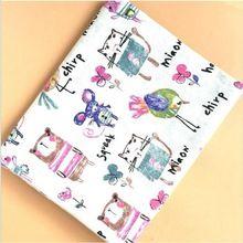 886811c4ef 50x150 cm Vintage mouse Style Miscela del cotone e Tessuto di lino Panno Per  escursioni Abbigliamento