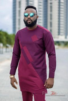 African men's clothing / African fashion/ wedding suit/dashiki / African men's shirt/ vêtement africain/ chemise et pantalon African Wear Styles For Men, African Shirts For Men, African Dresses Men, African Attire For Men, African Clothing For Men, African Style, African Women, Nigerian Men Fashion, African Print Fashion