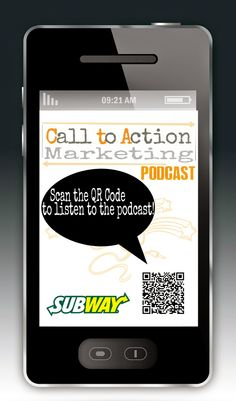 Here's something you may not have seen...Subway's QR Code that gets you a free cookie!  Check out this podcast to learn more!  Can't scan the QR Code?  Visit this link instead - http://mobilesitelinkexchange.mobi/code/podcasts/view_poll_question.cfm?poll=61901257.35640320201512:13:44:133:PM70473652.9089