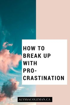 How to ditch procrastination so you can be a more productive entrepreneur. How to ditch procrastination so you can be a more productive entrepreneur. Business Tips, Online Business, Business Entrepreneur, Productive Things To Do, How To Stop Procrastinating, Thing 1, Marketing Quotes, Media Marketing, Time Management Tips
