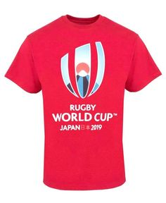 Be ready for one of the biggest events in the sporting calendar, the Rugby World Cup in one of these official licensed large logo t-shirts. In cotton with the Japan 2019 official event logo printed to the front. Ready For First, Event Logo, Rugby World Cup, Rugby Players, Juventus Logo, Blossoms, Brave, Japan, Logos