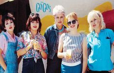 The Go-Go's Group Portrait Poster – BananaRoad Jolly Roger Flag, Rock Around The Clock, Belinda Carlisle, Beauty And The Beat, Red Stilettos, Strapless Prom Dresses, Silk Stockings, Sweet Soul, The New Wave