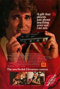110 Camera Michael Landon ad.  I had a camera like this in high school!