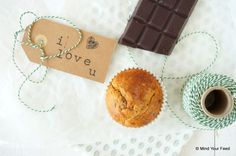 Havermoutmuffins met chocola - Mind Your Feed