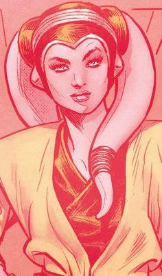 Eldra Kaitis | Twi'lek female | Jedi Padawan